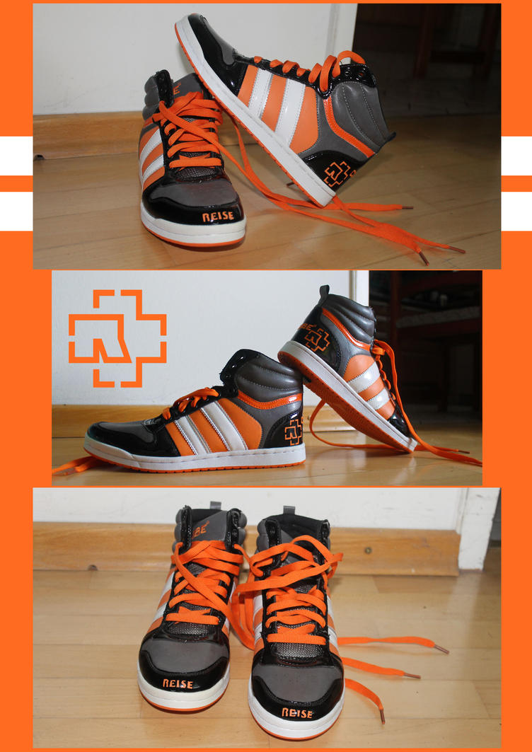 Reise, Reise :  Rammstein Sneakers by Amaterasuscorp1