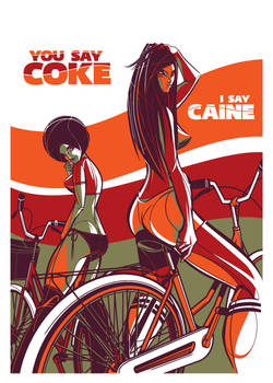 You say Coke, I say Caine