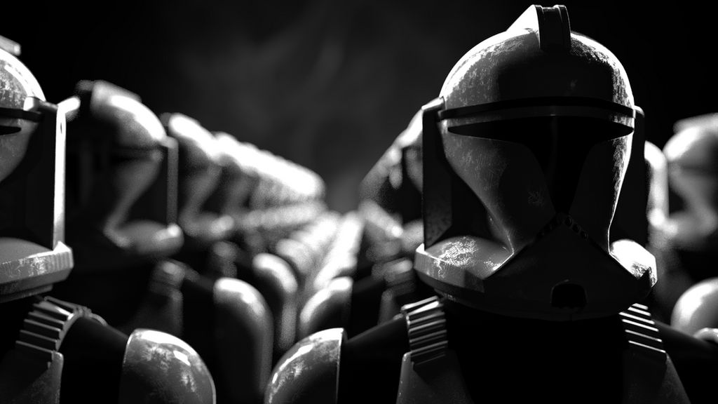 Star Wars Clone Trooper Wallpaper By Dudepersonmanstuff On
