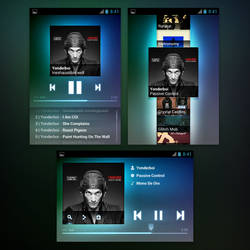 Music player app (Concept - WIP)