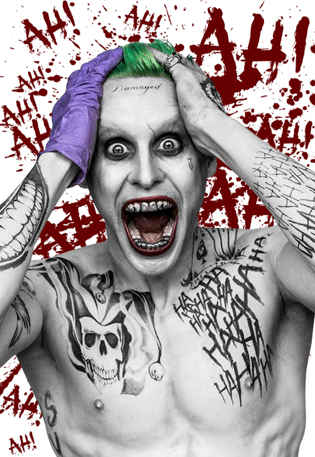 new joker suicide squad wallpaper - photo #9