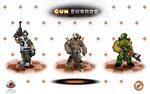 Gunswords promotional art. by Popov-SM