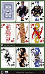 World Poker Club promotional art. by Popov-SM