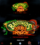 Battletoads Double Dragon Title Logo by Popov-SM