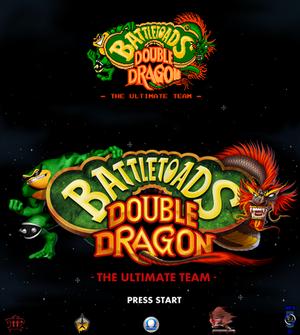 Battletoads Double Dragon.Remake.Title Logo