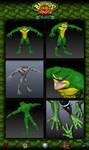 Battletoads Double Dragon - Rash by Popov-SM