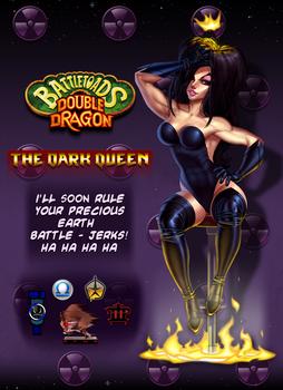 Battletoads Double Dragon.Remake.  The Dark Queen