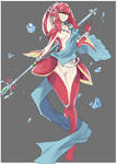 544- Mipha by BeardoMan