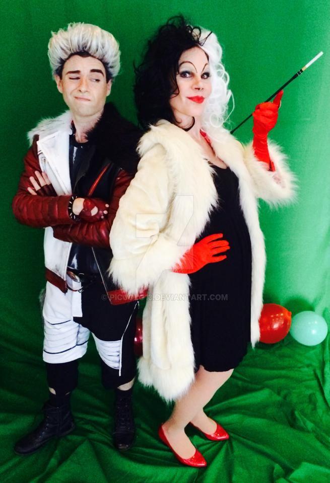 Carlos And Cruella De Vil By Piccolo13 On Deviantart