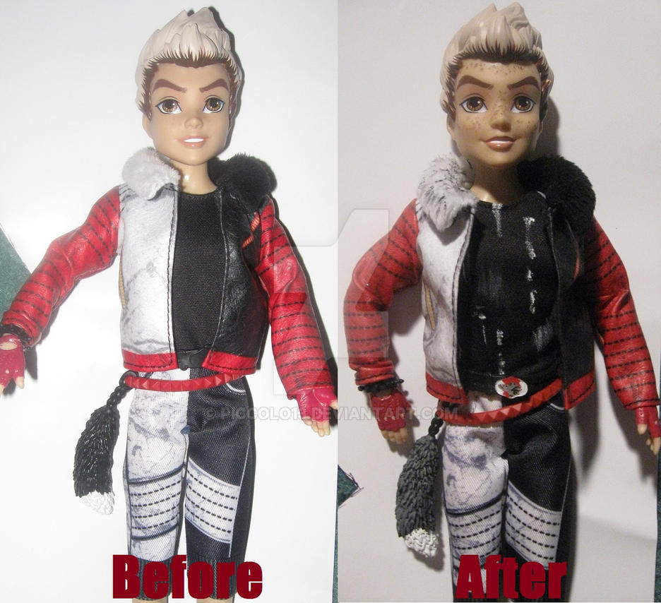 Carlos De Vil Descendants Doll Makeover By Piccolo13 On Deviantart