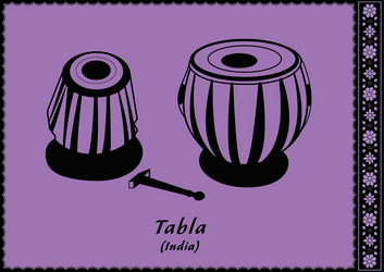 Indian tabla by Squid-pro-Quo