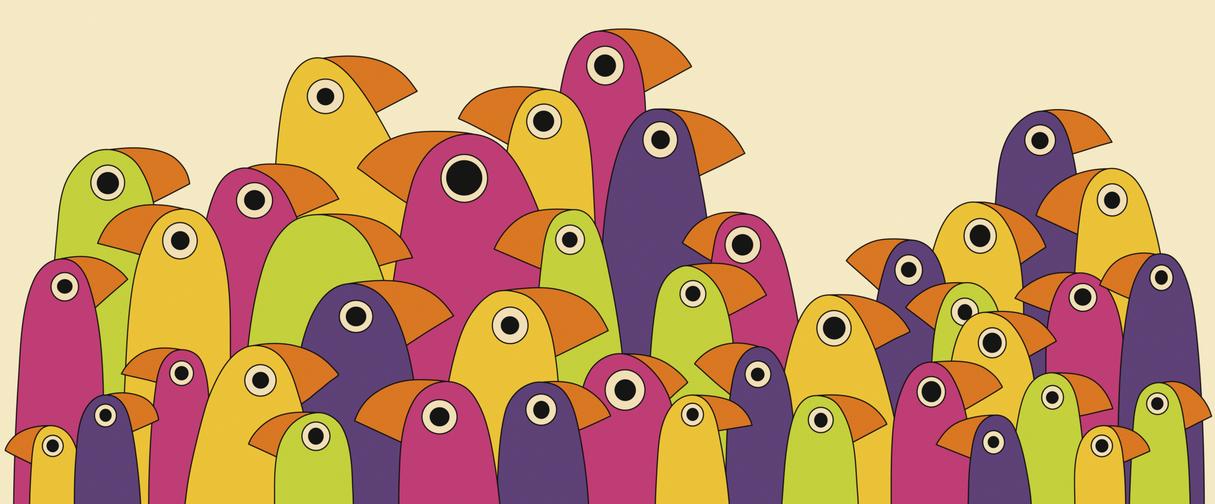 Piano Birds by Squid-pro-Quo