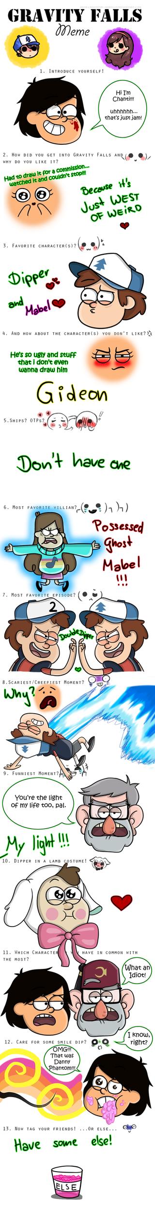Gravity Falls MEME *3* by CwieChanti on DeviantArt