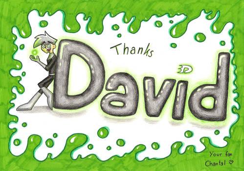 Thank you, David!