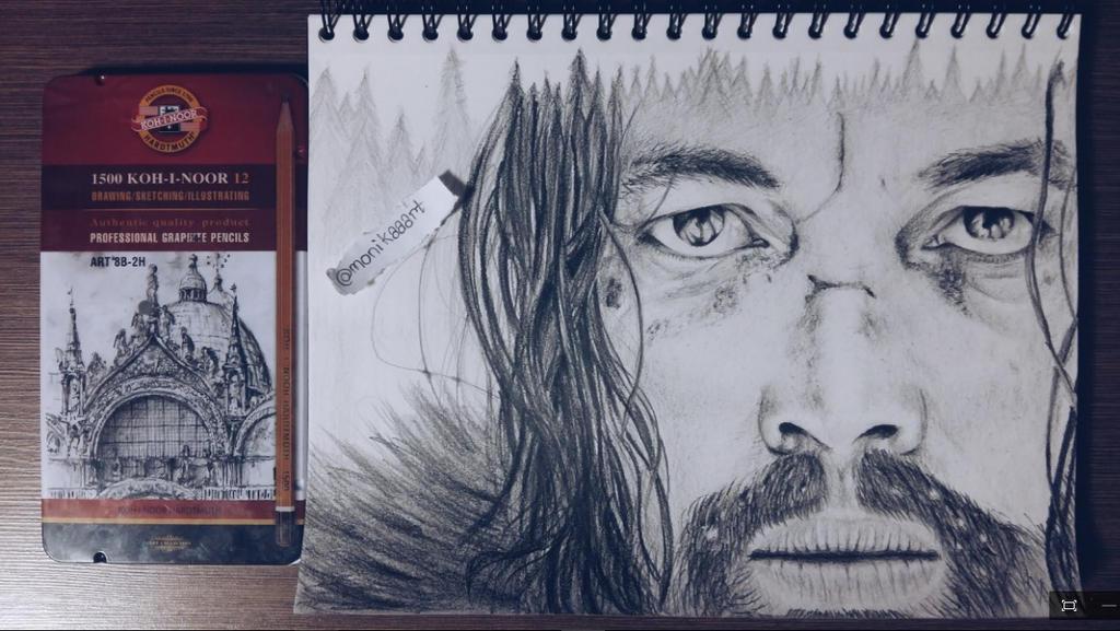 Leonardo Dicaprio by Aknebaz