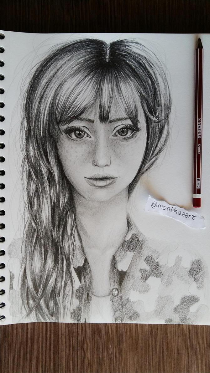 Cute girl )  by Aknebaz