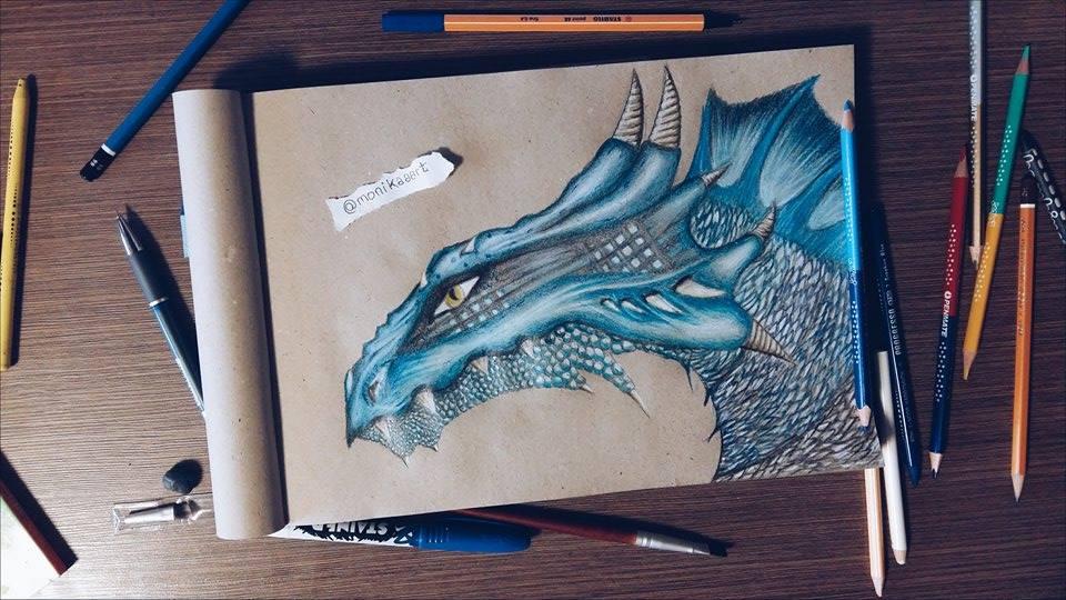 Blue Dragon by Aknebaz