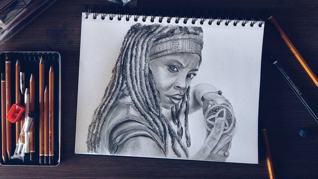 Michonne by Aknebaz