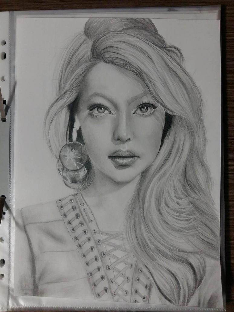 Gigi Hadid by Aknebaz