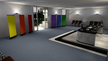 Sports Center Lobby Internal #1