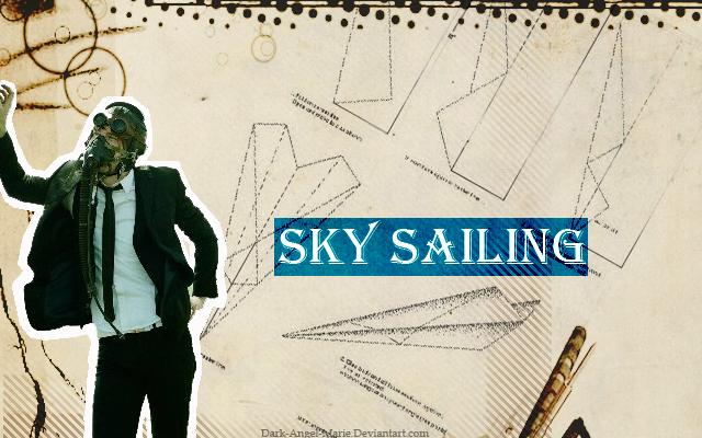 Sky Sailing Wallpaper by Dark-Angel-Marie