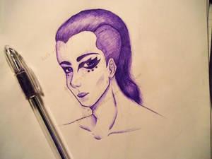Purple Character