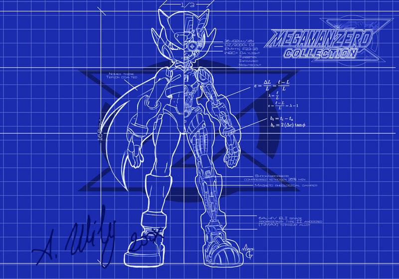 Rockman Zero Blueprint