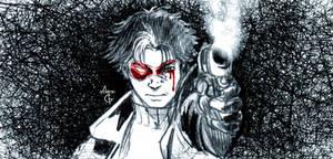 Jason Todd Sketch by MGNemesi
