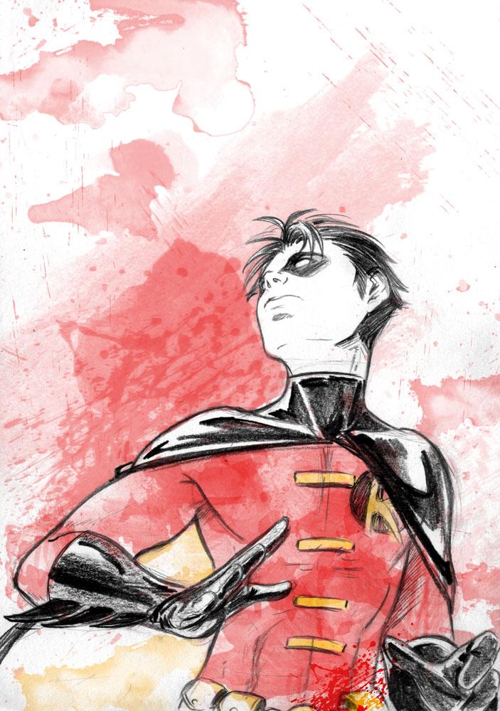 Robin Tim sketch by MGNemesi