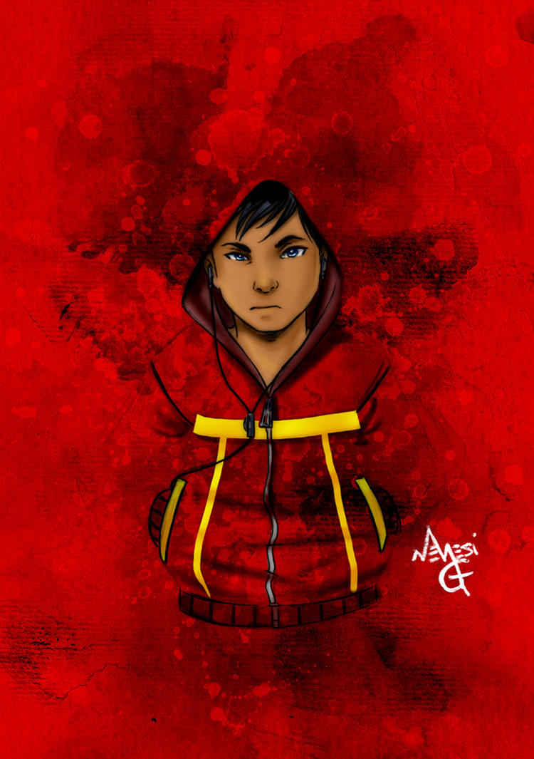 Hoodies series: Damian Wayne by MGNemesi
