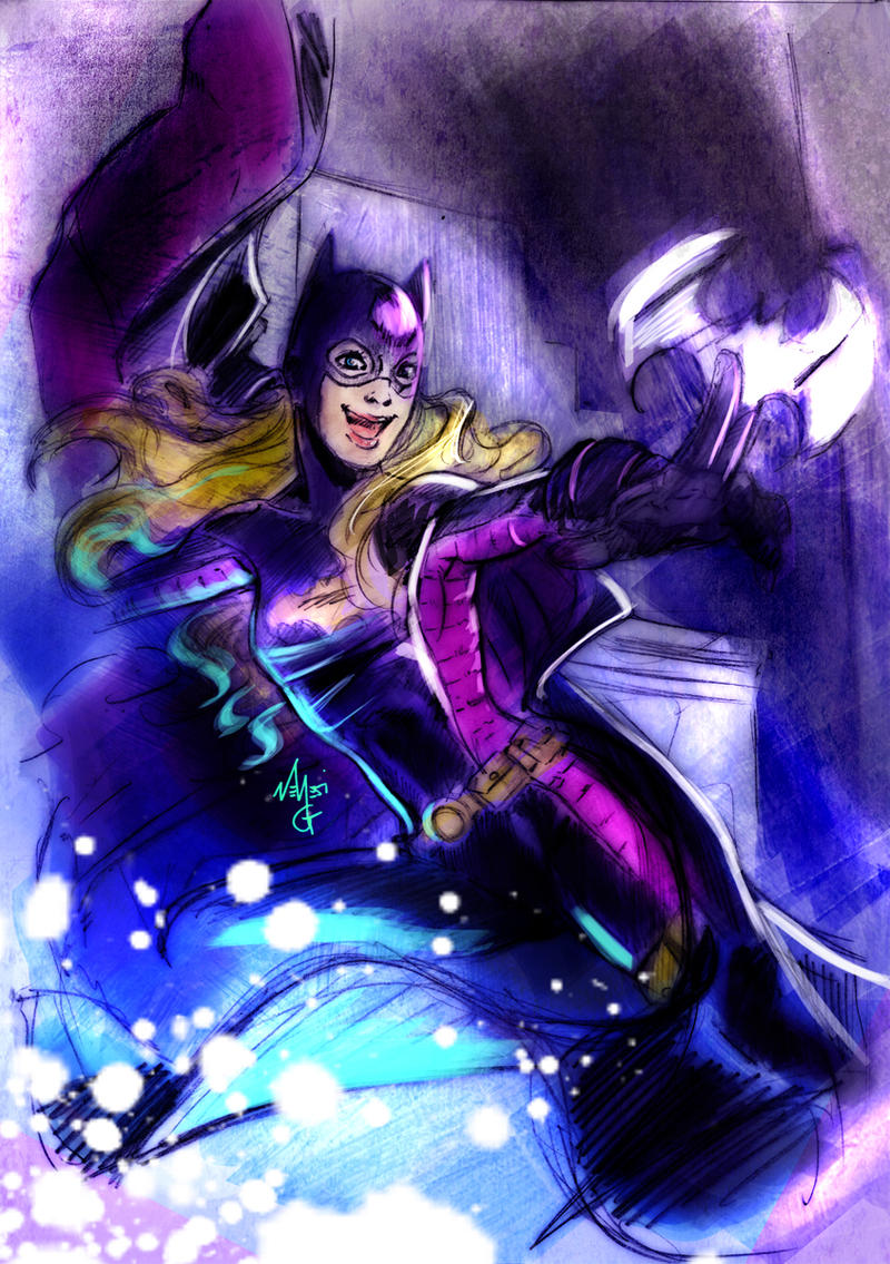 Stephanie Brown - Batgirl by MGNemesi