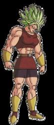 Kale Legendary Super Saiyan *Rough* by GuyXD