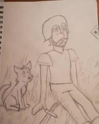 just me and my doggo sven