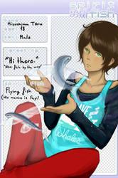 Spirit Fish app: Mizushima Toru
