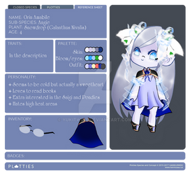 Orin reference sheet