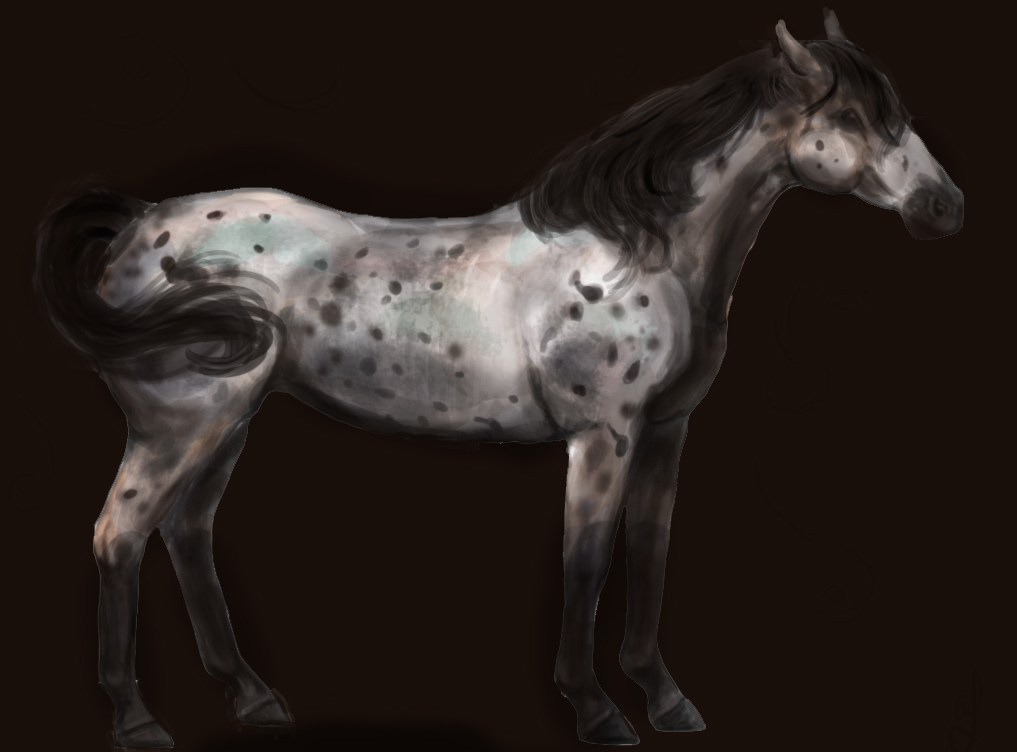 Spots (WIP, colorado ranger breed, early test) by LuminaMaridia