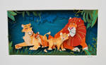 Paper Lion Illustration