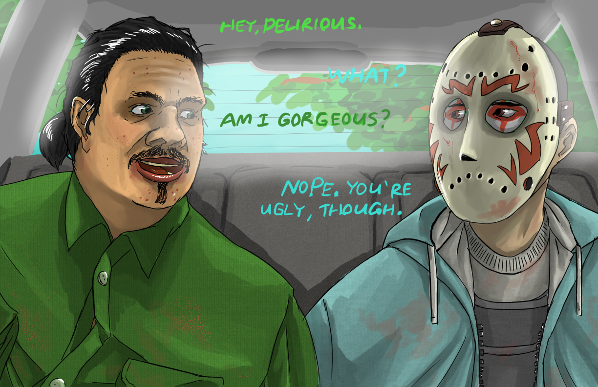 GTA V - Is Nogla Beautiful? by Atteez on DeviantArt H20 Delirious Face