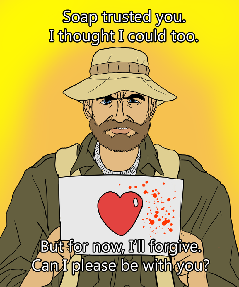 POSSILBE SPOILER: Cpt. Price Valentine's Day Card by Atteez