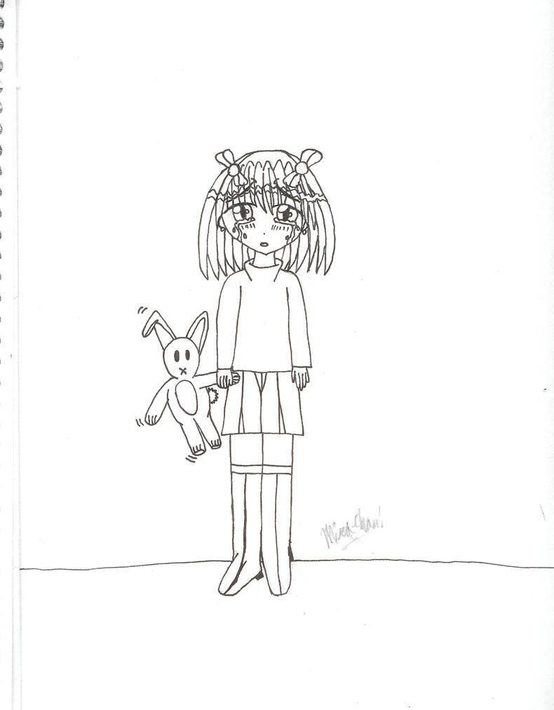 Little Girl -line- by MiraVixen007