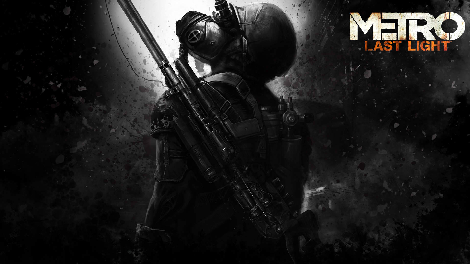 Metro Last Light Custom Wallpaper By Vis Al Ghul