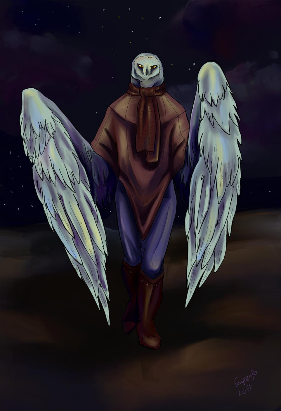 Owl by zoiocen