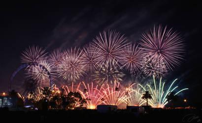Fireworks 1 by DaXXe