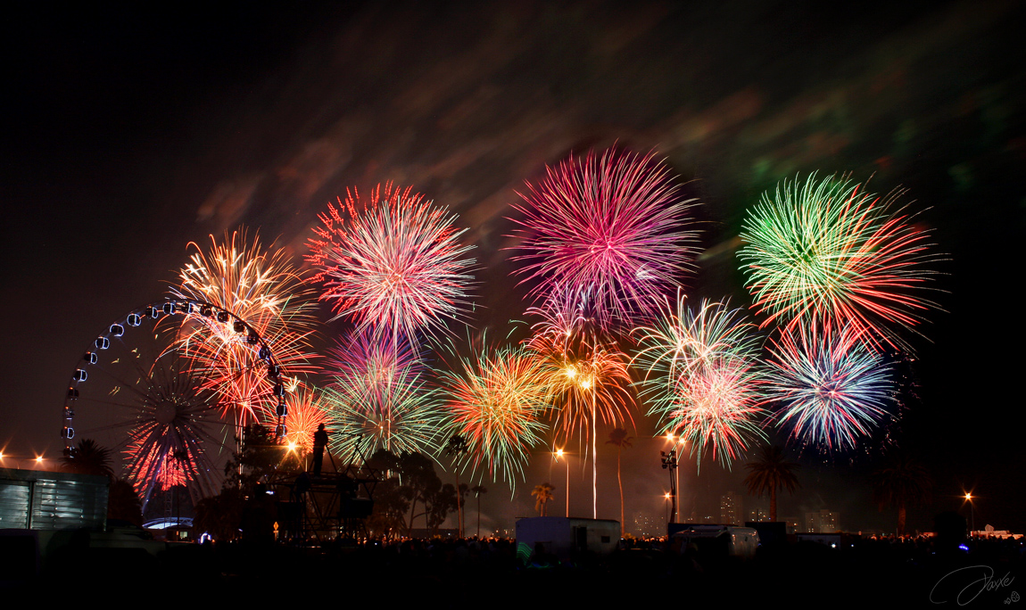 Fireworks 3 by DaXXe