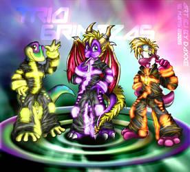 Trio Grimzzas by DaXXe