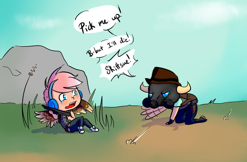 PubG With Friends Doodle By Skittsue On DeviantArt