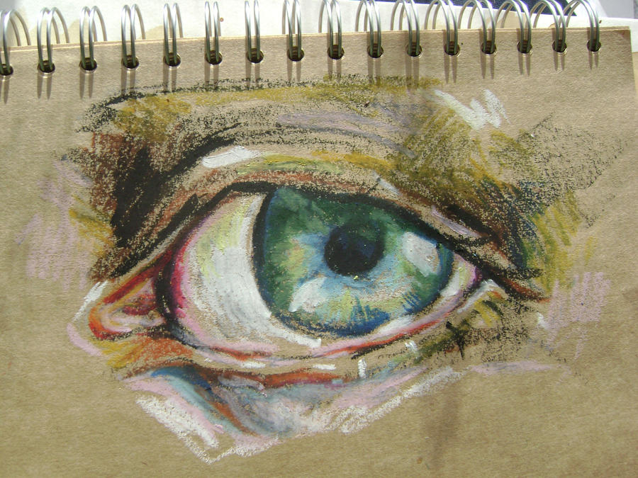 eye drawing video by ArtforStart