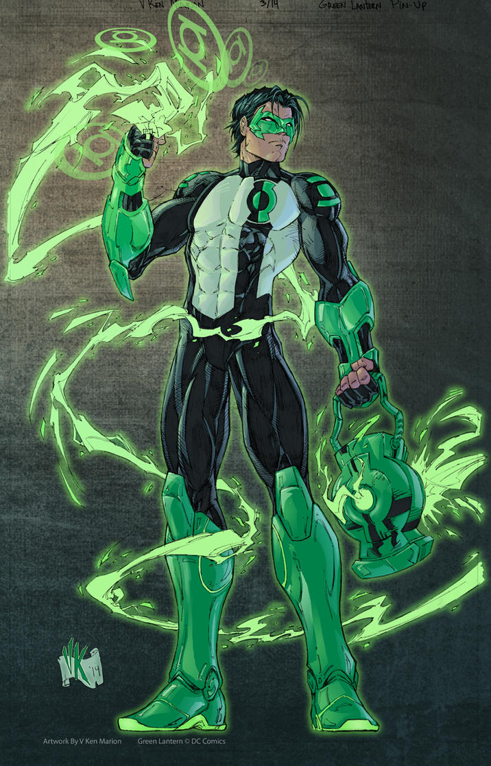 kyle rayner color by vmarion07 on deviantart