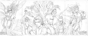 All New Soulfire #4 Cover Set