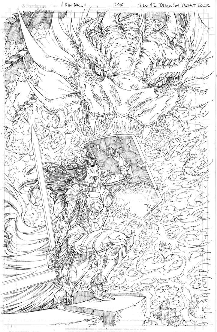 Jirni #2 Dragoncon Cover by vmarion07